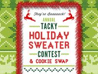 Tacky Sweater Contest Invite