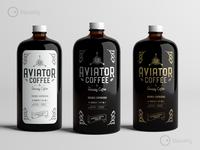 Aviator Coffee Logo