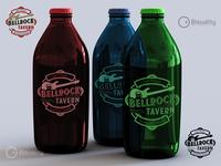 Bellrock Tavern Monterrey México Logotype