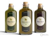 Pressed Gourmet Olive Oil & Vinegar Company Logo