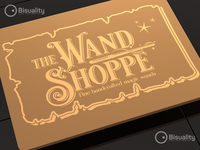 The Wand Shoppe Logo