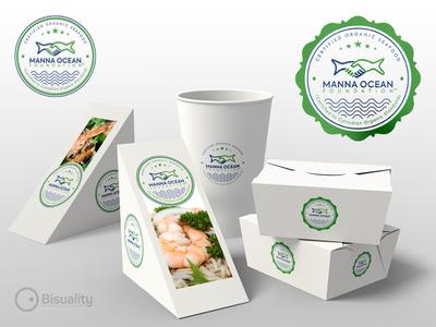Manna Ocean Foundation Organic Seafood Certification  Logo