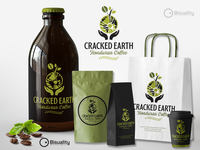 Cracked Earth Honduran Coffee Logo