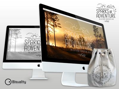 Sparks Of Adventure Blog Logo