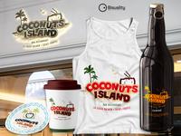 Coconuts Island Logo Saint Tropez, France