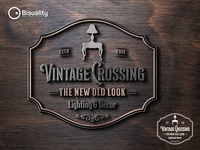 Vintage Crossing Logo