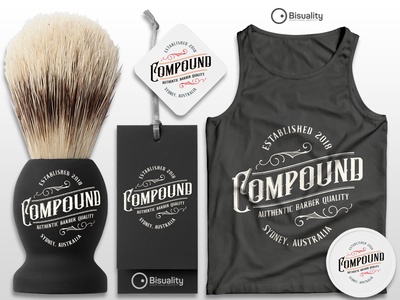 Compound men hair styling pomade