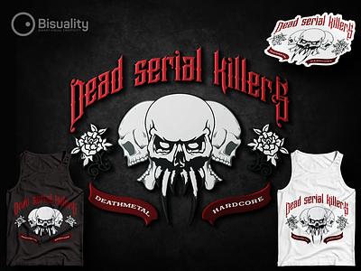 Dead Serial Killers dead serial killers music logoshop logodesigner logo dead serial killers band dead serial killers hardcore band heavymetal rockband hardcore deathmetal deadserialkillers