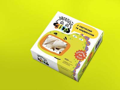 Varenij Packaging design art character illustration charcter design packaging branding logo graphic design