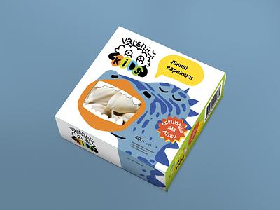 Varenij food kids packaging vector branding logo design art character charcter design illustration