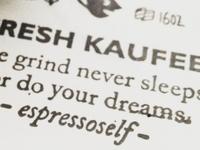 Kaufee Manifesto - Stamped Version