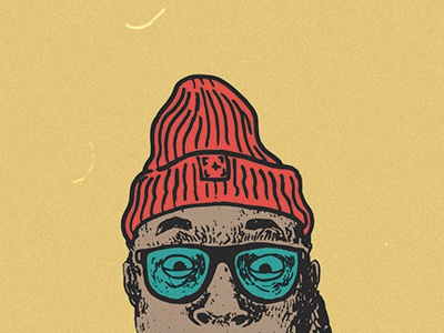 Alex glasses headwear beanie dreads vector drawing bugs87 face portrait illustration