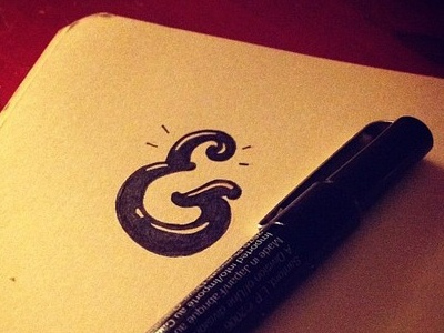 Ampersand ampersand design type