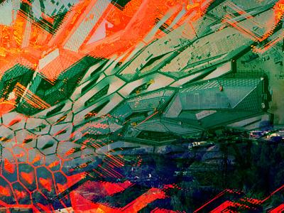Cities city la design graphic colorful photo composite