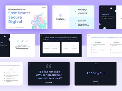 Presentation for Atpar slide deck figmadesign presentation design presentation