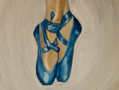 Ballet dance ballet oil painting oil paint illustration