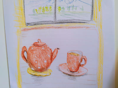Tea time teatime pencilsketch pencil
