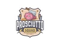 Prosciutto Squad Logo