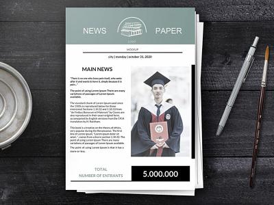 Student Newspaper - free Google Docs Template google docs free templates free template design student newspaper