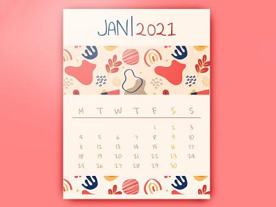 Cute Calendar 2021 - free Google Docs Template. google docs free templates free template design