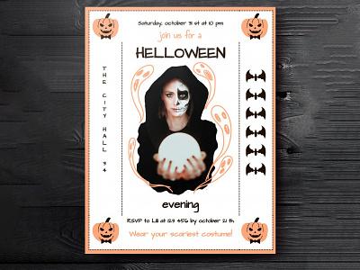 Helloween Evening Invitation - free Google Docs Template helloween invitation google docs free templates free template design