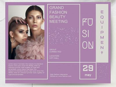 Fashion Flyer - free Google Docs Template flyer google docs free templates free template design fashion flyer