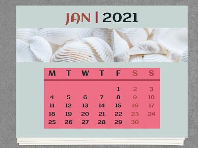 Monthly Calendar 2021 - free Google Docs Template google docs free template design