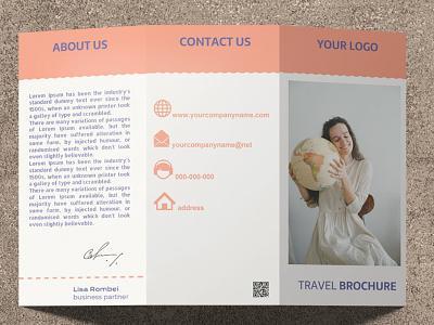Trifold Travel Brochure - free Google Docs Template google docs free template design travel brochure