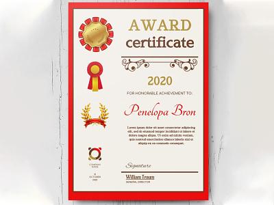 Award Certificate - free Google Docs Template google docs design free templates free template