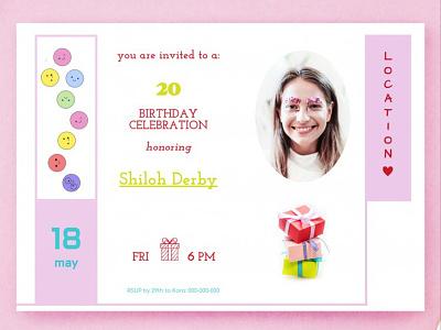 Birthday Invitation - free Google Docs Template google docs free templates free template design birthday invitation