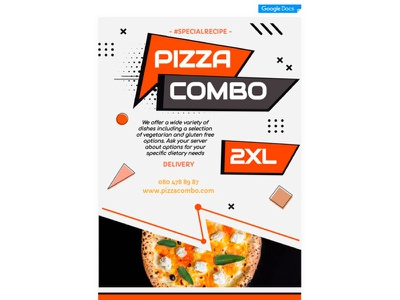 Pizza Flyer - free Google Docs Template flyer google docs free templates design free template
