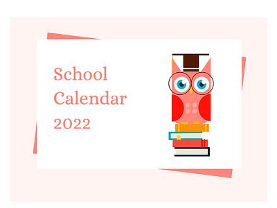 Cute School Calendar - free Google Docs Template school calendar calendar google docs design free templates free template