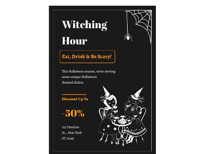 Halloween Flyer - free Google Docs Template halloween flyer flyer google docs free templates design free template