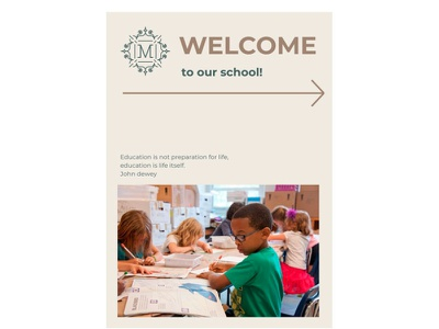 Education Booklet - free Google Docs Template google docs free templates design free template