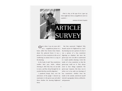 Survey Article - free Google Docs Template article google docs free templates design free template