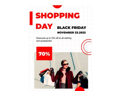 Black Friday Flyer - free Google Docs Template black friday flyer google docs free templates design free template