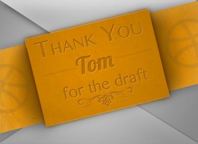 Thank You Tom thank you