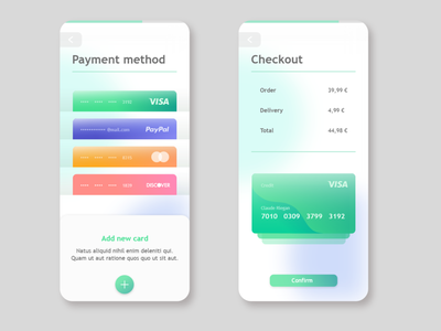 Daily UI #002 (Credit Card Checkout) visa payment buying store checkout credit card checkout credit card ui design daily ui challenge app