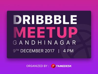 Dribbble Meetup Gandhinagar