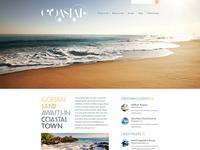 Coastal Template Site Design
