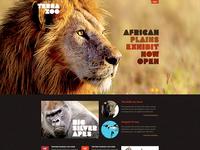 Terra Zoo Template Site Design