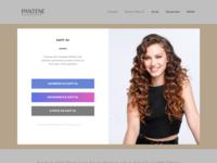 Pantene Awards Web Site