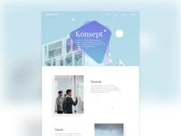 Konsept - 30 Min Website