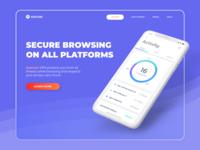 Asecure VPN - Landing Page