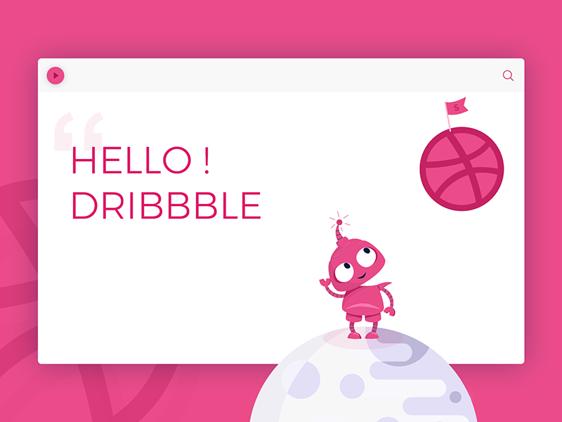 Thanks my dribbble first dribbble shot