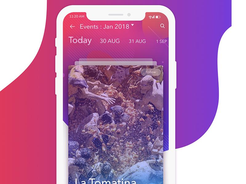 Events eventapp mobileapp ux