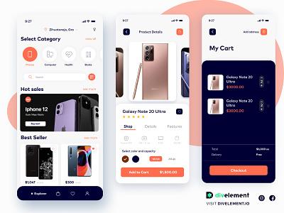 Ecommerce Concept Design ecommerce shop ecommerce app ecommerce figmaui figmadesign illustration design ui ui figma concept uidesign design app concept design adobexd uxdesign
