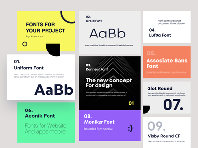 Collections Fonts for you project fontweb website mobile apps design tipografia tipography fonts collection font awesome font family font design fonts font design app concept design uidesign adobexd uxdesign