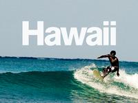 Hawaiian surf break