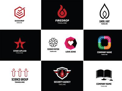 Practice Work Logo businesscard illustration banner branding icon vector design typography logo